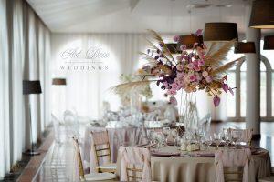 Топ тенденции за цветови композици на сватбените събития през 2020